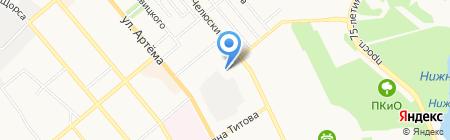 ТНТ Медиа Групп на карте Донецка