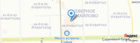ИНКОМ-Недвижимость на карте Москвы