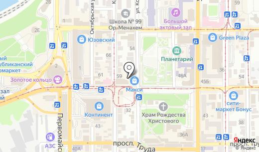 Royal Credit ПО. Схема проезда в Донецке