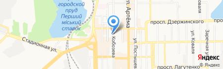 Арт-Вояж на карте Донецка