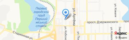 БТИ на карте Донецка