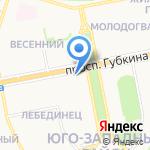 Нотариус Колеущенко Н.П. на карте Старого Оскола