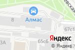 Схема проезда до компании NBPlaza.ru в Москве