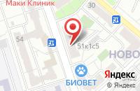 Схема проезда до компании Издательский Дом «Нэп» в Москве