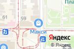 Схема проезда до компании Детский комиссионный в Донецке