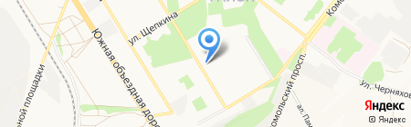 Старооскольская Транспортная Компания на карте Старого Оскола