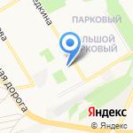 Старооскольский техникум технологий и дизайна на карте Старого Оскола