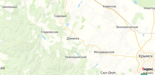 Прохладный на карте