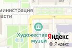Схема проезда до компании Донецкий художественный музей в Донецке