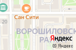 Схема проезда до компании Бульвар в Донецке