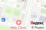 Схема проезда до компании Барти в Москве