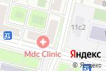 Схема проезда до компании Ягуар ДМ в Москве