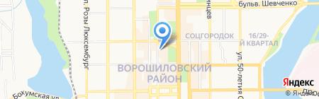 Luisa Spagnoli на карте Донецка