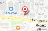 Схема проезда до компании Объединение Промышленной Комплектации  в Москве
