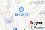 Схема проезда до компании Добрый Айболит в Москве