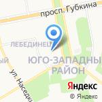 Всероссийское общество инвалидов на карте Старого Оскола