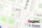 Схема проезда до компании Комбинат ЖБИ-1 в Москве