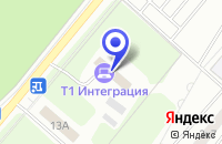 Схема проезда до компании ГРУППА КОМПАНИЙ ТЕХНОСЕРВ А/С в Москве