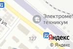 Схема проезда до компании TST в Донецке