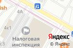 Схема проезда до компании Банк-Ремонт в Москве