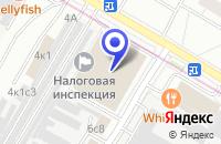 Схема проезда до компании ТФ ЕЛЕВИС в Москве