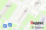 Схема проезда до компании Русский Деловой Мир в Москве