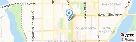 АРТ ТРЕВЕЛ ПЛЮС на карте Донецка