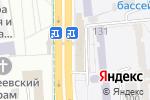 Схема проезда до компании Коннект в Донецке