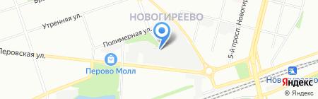 Авангард на карте Москвы
