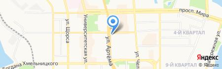 Право-Сервис на карте Донецка