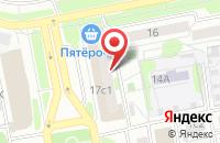 Схема проезда до компании Дятьково в Старом Осколе