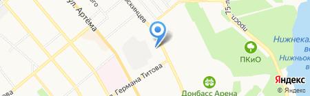 Элит-Консалтинг на карте Донецка