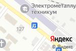 Схема проезда до компании Урожай в Донецке