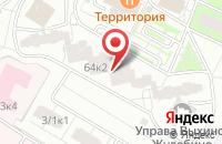 Схема проезда до компании Сервис Медиа в Москве