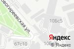 Схема проезда до компании ПУРЭСО в Москве