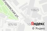 Схема проезда до компании Единая компьютерная служба в Москве