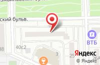 Схема проезда до компании Азартные Игры в Москве