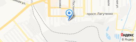 ОВЕА на карте Донецка