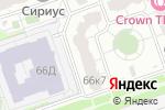 Схема проезда до компании Курсы от Дома Красоты в Москве