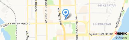 Графиня на карте Донецка