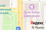 Схема проезда до компании Golden Lotus в Донецке