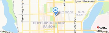 Apple City на карте Донецка