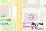 Схема проезда до компании Bronza в Донецке
