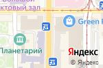 Схема проезда до компании Расторгуевский в Донецке