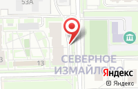 Схема проезда до компании Люди и Деньги в Москве
