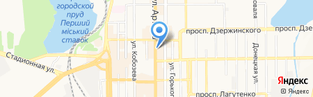 Банкомат СБЕРБАНК РОССИИ на карте Донецка