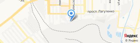 Сарбона плюс на карте Донецка