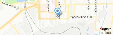 Газтехмонтаж на карте Донецка