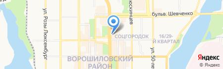 Mango на карте Донецка