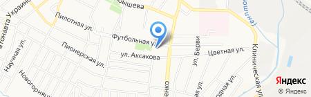 Электро-ник на карте Донецка